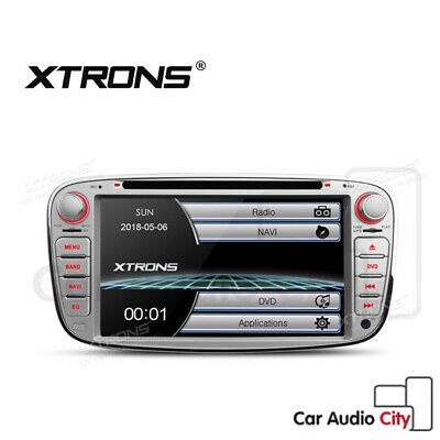 """7"""" GPS Bluetooth In Car DVD Player Radio Stereo Ford Mondeo Focus Galaxy Transit"""