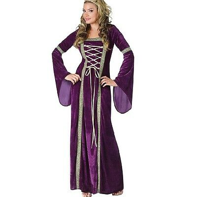 Renaissance Queen Costume Ladies adult medieval Ball Gown Theat Fany Party Dress