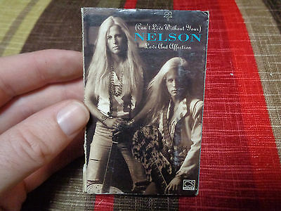 NELSON_Love And Affection_used cassette cassingle_ships from AUS!__M1