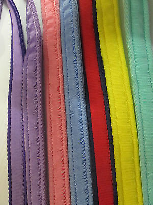 Lunge Line -24ft. Soft Nylon Webbing.Ideal for Lunging/Long Reining