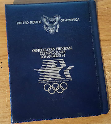 USA Official Coin Program Olympic Games, Los Angeles '84  (CW4)