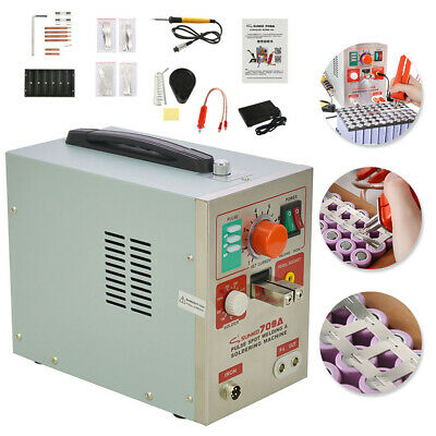 Welding Machine 709A  1.9kw 2 in 1 Spot Welder Soldering Iron Staion Battery 60A