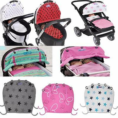 Dooky Universal Sun Shade Pram Car Seat Pushchair UV 40+ 16 GREAT DESIGNS!