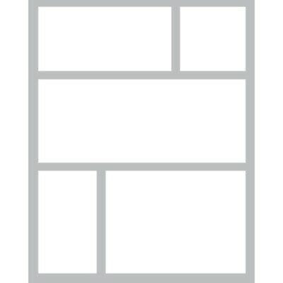 Queen & Co Foam Fronts Shaker Card Set - Squares