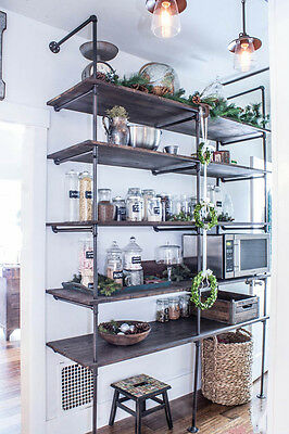 Industrial Pipe Shelving Unit - LIMITED TIME SPECIAL!