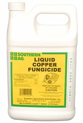 Southern Ag Liquid Copper Fungicide, 128oz - 1 Gallon, New, Free Shipping