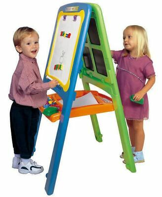 Kids Artist Easel | Activity Easel for 2 | Magnetic Whiteboard Easel