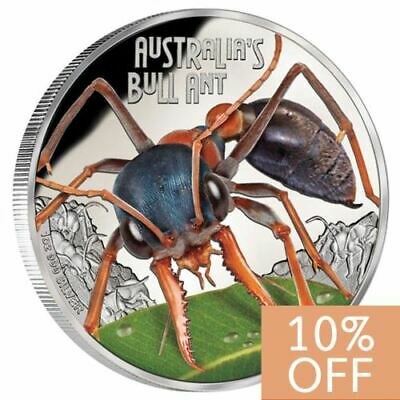 NEW Perth Mint Deadly & Dangerous – Australia's Bull Ant 1oz Pure Silver Coin