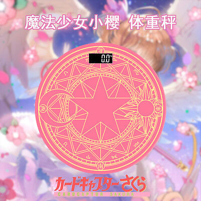 Anime Card Captor Sakura Daily Weighing Scale Electronics Properly New Cosplay