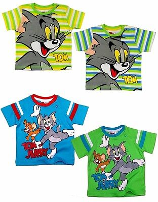 Tom & Jerry T-Shirt Baby 62 68 74 80 86 92 kurzarm Shirt Sommer Junge