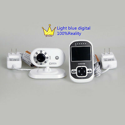 Motorola MBP26 Wireless Video Baby Monitor Infrared Night Vision without box
