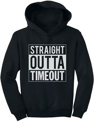 Straight Outta Timeout Funny Toddler Hoodie Children's
