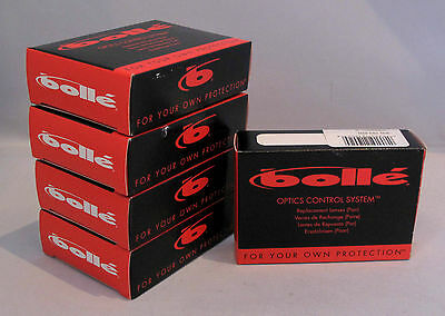 5 Sets Bolle Sunglasses Tennis Supercell TNS Replacement Lenses 900793070