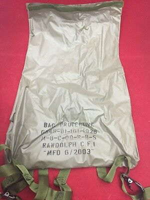 NEW RANDOLPH Butyl Coated Medical Instrument & Supply Protective Bag Green