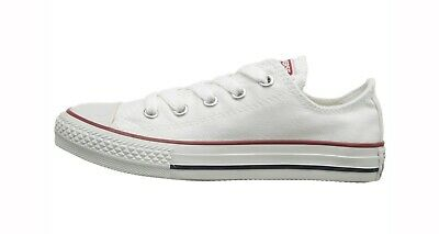 Converse Chuck Taylor All Star Low Top Canvas Boys Shoes 3J256 - Optical White