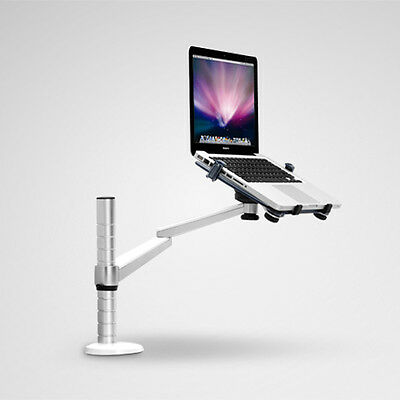 ThingyClub Single Arm Adjustable Laptop/Tablet Desktop Stand with Clamp