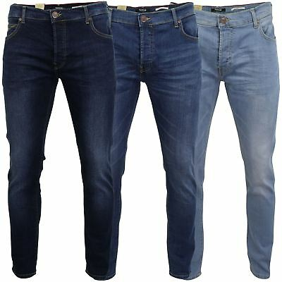 Mens Jeans by Firetrap 'Denhoff' Skinny Fit with Button Fly