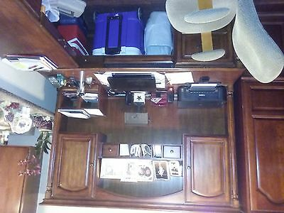 3 Piece Executive Desk with chair