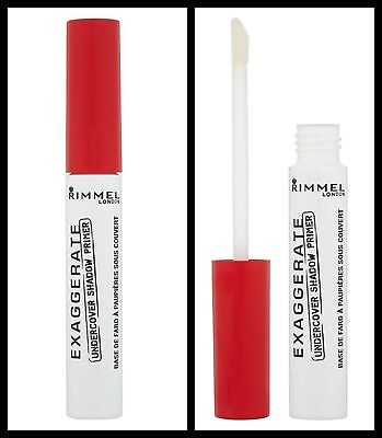 Rimmel EXAGGERATE - Undercover Shadow Primer - Full Size 6ml -