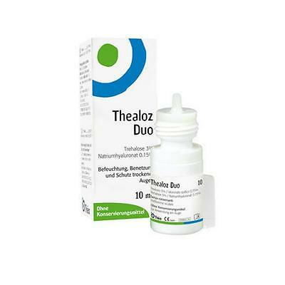 Thealoz duo 10ml - Preservative Free - For the treament of dry eye