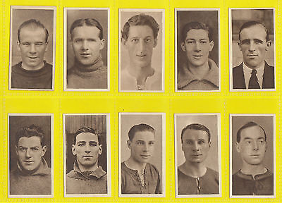 Football - R. & J. Hill -  Rare  Set  Of  50  Famous  Footballers  Cards  - 1923