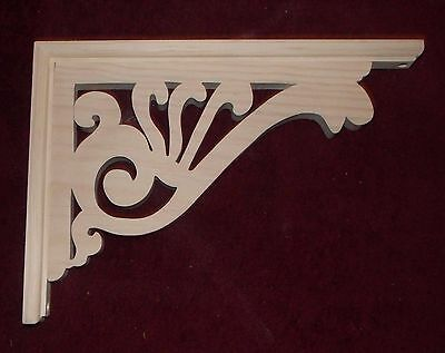 "Victorian Wood Gingerbread {10"" x 13"" } Porch & House Trim Bracket #56 ~ by  PLD"