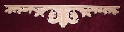 "Victorian OAK Gingerbread { 43"" x 8.5"""" } Drop Pendant Bracket #45P ~ by PLD"