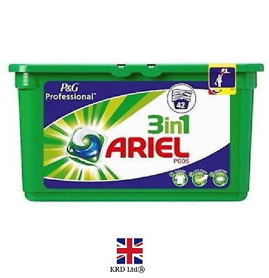 P&G Professional Ariel 3in1 Pods Regular Liquitabs 42 Washes Capsules 42 PACK