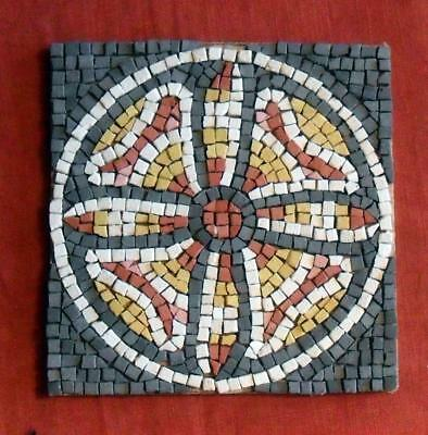 Rosette of Petals and Leaves - Mosaic Kit
