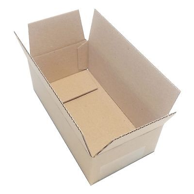 Small Shipping Boxes Cardboard Packing Mailing Moving  Cartons 140X75X45(mm)