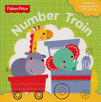 Fisher-Price Number Train by Fisher-Price BRAND NEW BOOK (Board book, 2015)