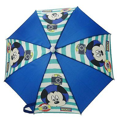 Boys Childrens Character Disney Mickey Mouse Umbrella