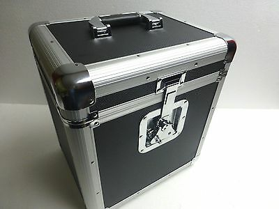 """12"""" or LP Record Box Euro Style Case Holds Up To 70 Vinyl Records"""