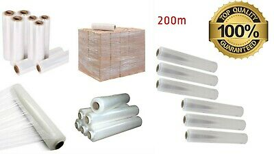 Strong Rolls Clear Pallet Stretch Shrink Wrap Parcel Packaging CLING FILM