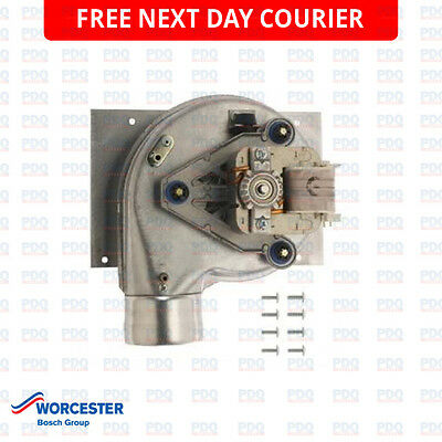 Worcester 25 & 28 Si & C1 Fan Assembly 87161215460 - Genuine, New & Free P&p