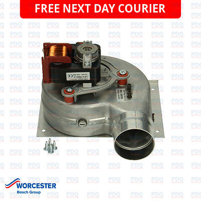 Worcester 28I Fsn Ng Combi Fan Assembly 87161216810 - Genuine, New & Free P&p