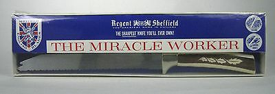 NEW The Miracle Worker Knife Regent Sheffield Sharpest Knife England NIP UK