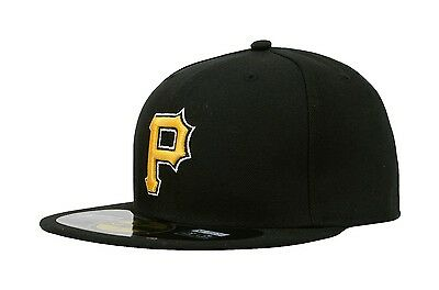 official photos 956d6 63b84 New Era 59Fifty MLB Cap Pittsburgh Pirates Alt AC On Field Fitted Hat -  Black