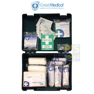 Blue Dot 1 - 10 person HSE compliant work, office & home first aid kit