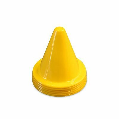 Mini Rubber Hat Markers - Yellow - 6 Pack