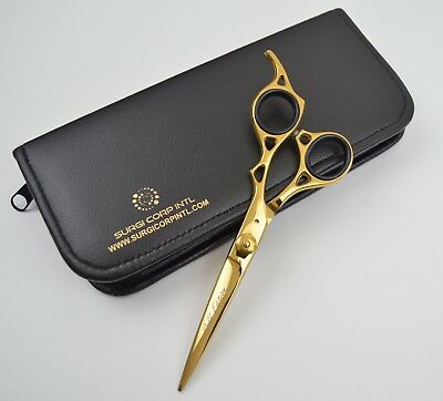"Professional PET GROOMING Scissor  6.5"" GOLD RRP £99 LIMITED EDITION RAZOR BLADE"