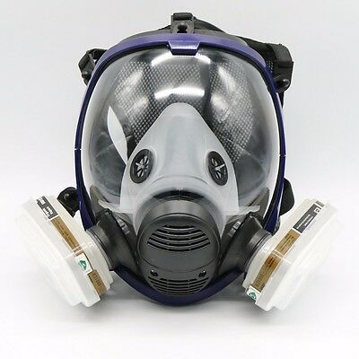 7Piece Suit Painting Spraying For 6800 Gas Mask Full Face Facepiece Respirator