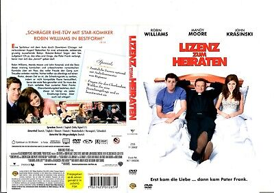 Lizenz zum Heiraten - Was Frauen schauen (Robin Williams) DVD / #3284
