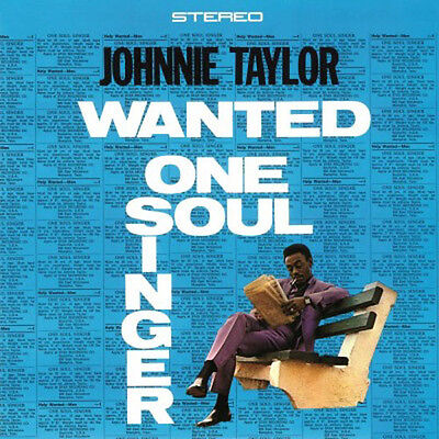 JOHNNIE TAYLOR Wanted One Soul Singer 180G Vinyl LP