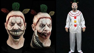 New Twisty The Clown Halloween Deluxe Mask With Costume Special Sale Price