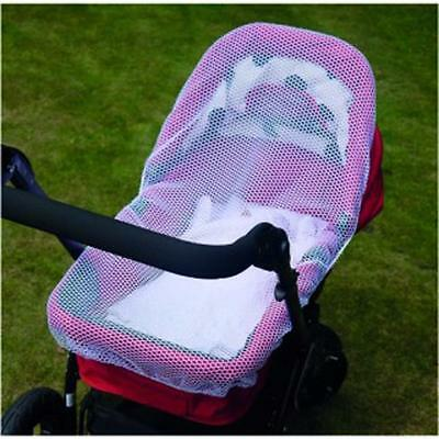 Clippasafe Pram / Carrycot Cat Net White