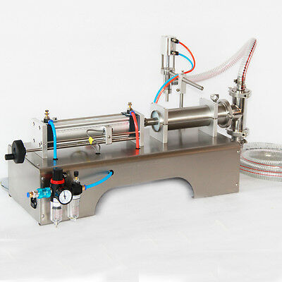 Pneumatic  Liquid Filling Machine For Shampoo,oil,water Perfume 90-1000Ml