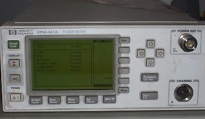 HP / Agilent EPM-441A / E4418A Power Meter **TESTED to Keysight Specifications**