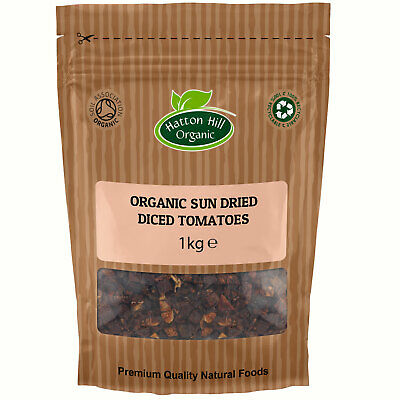 Organic Sun Dried Tomatoes 1kg Certified Organic by the Soil Association