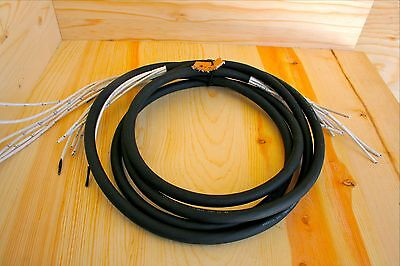 Raw 6-pair snake cable 5' Quantity 2